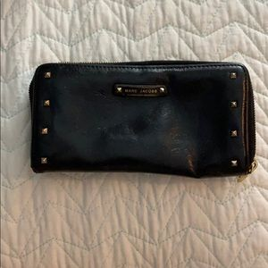 Marc Jacobs Black Studded Wallet